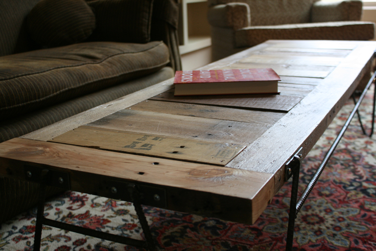 Jordan Waller – Industrial Designer » Pallet and Rebar Table
